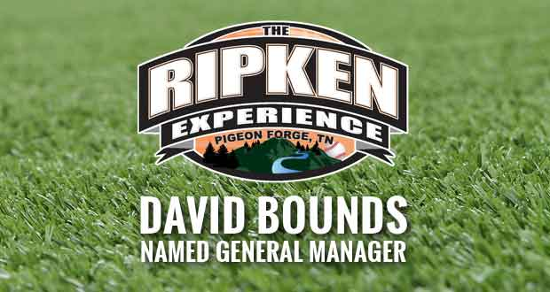 David Bounds Named General Manager of Ripken Experience Pigeon Forge