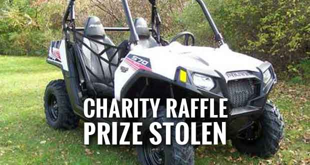 Thieves Steal Off Road Vehicle from Smoky Mountain Celebration Charity Raffle