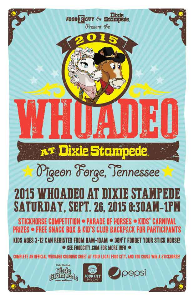 Dixie Stampede partners with Food City to host Ninth Annual Children's Whoadeo