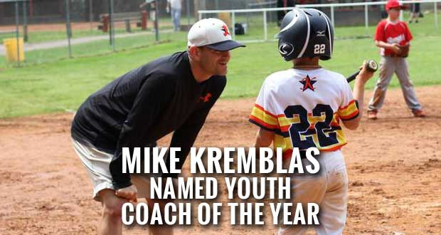 Sevier County's Mike Kremblas Named Ripken Baseball's Youth Coach of the Year