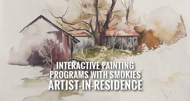 Paint Your Park! Program at the Smokies