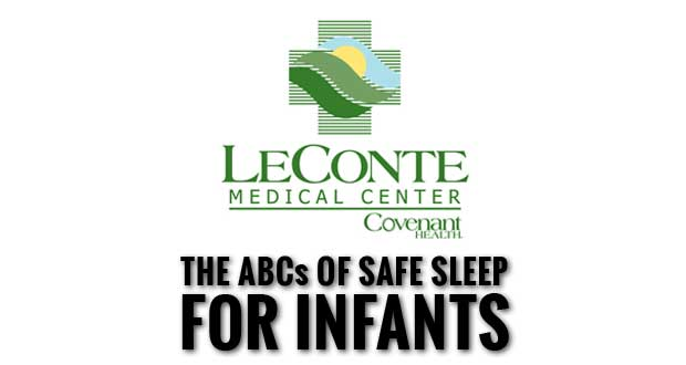 LeConte Medical Center Promotes Safe Sleep During SIDS Awareness Month