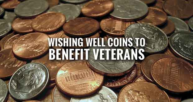 Mountain Mall Wishing Well Coins to Aid Sevier County Veterans
