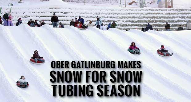 Snow Making Begins for Ober Gatlinburg Snow Tubing