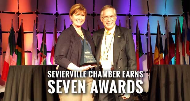SEVIERVILLE'S BLOOMIN' BBQ & BLUEGRASS FESTIVAL HONORED WITH THE GRAND PINNACLE AWARD FROM INTERNATIONAL FESTIVAL & EVENTS ASSOCIATION