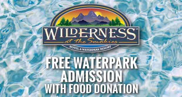 Wilderness at the Smokies Offers Free Waterpark Admission with Food Donation