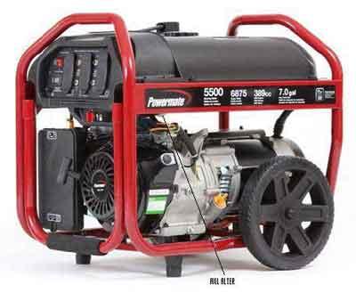 Pramac America Powermate Sx 5500 Portable Generators