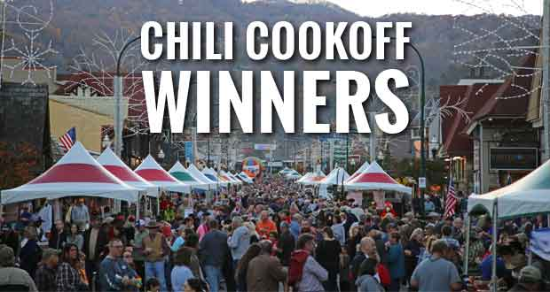 Record Crowd Turns Out for Gatlinburg Winterfest Kickoff and Chili Cookoff