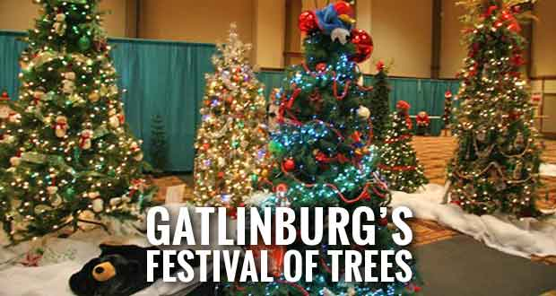 gatlinburgs festival of trees to benefit boys girls club of the smoky mountains - When Does Gatlinburg Decorate For Christmas