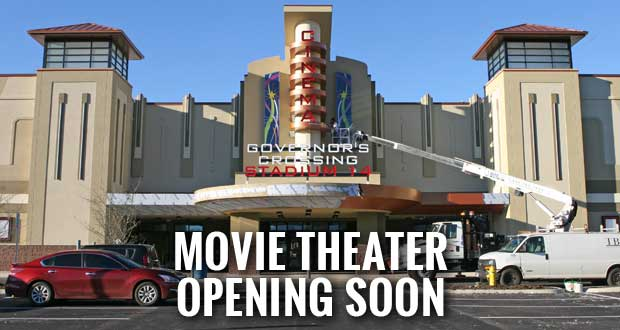 New Movie Theater Opening Soon in Sevierville, Hiring Staff
