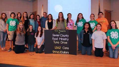 Sevier County 4-H Tuna Drive