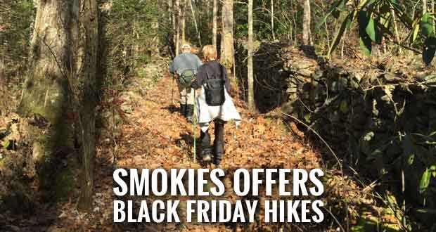 #OptOutside with Guided Hikes in the Smoky Mountains on Black Friday