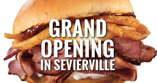 New Arby's Restaurant Opening in Sevierville