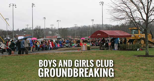 Boys and Girls Club Breaks Ground on New Pigeon Forge Facility