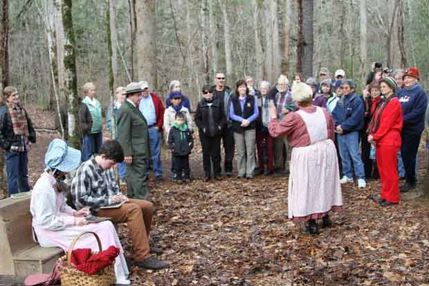 Christmas Past Living History Walk