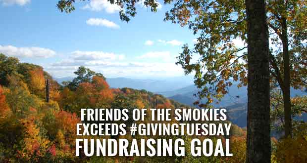#GivingTuesday a Success for Friends of the Smokies