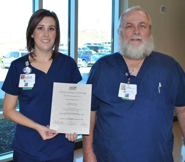 LeConte Medical Center Earns ACR Accreditation in Breast MRI