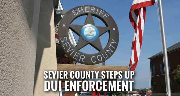 Sevier County Sheriff's Office to Increase Patrols, DUI Checkpoints During Holidays