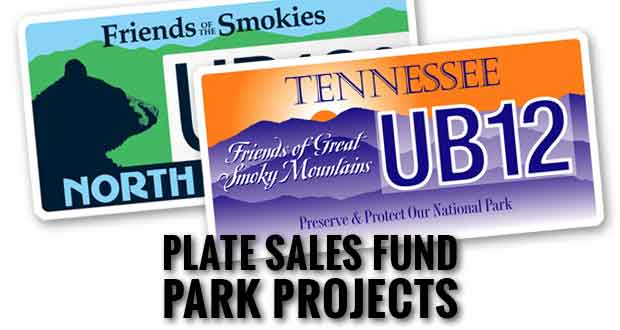 Specialty License Plates Raised Millions for Smokies Projects