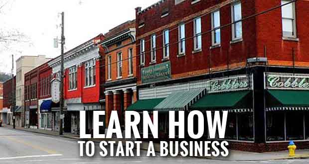 Starting a Business Workshop to be Held in Sevierville