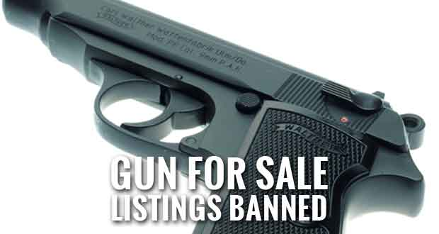 Private Gun Sales Banned by Facebook and Instagram