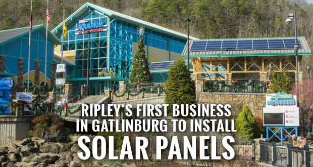 Ripley's Aquarium Adds Solar Panels for TVA's Green Power Switch Program