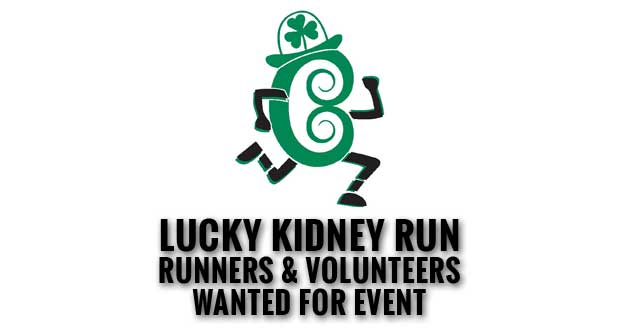 East Tennessee Kidney Foundation Lucky Kidney Run and Irish Festival Planned