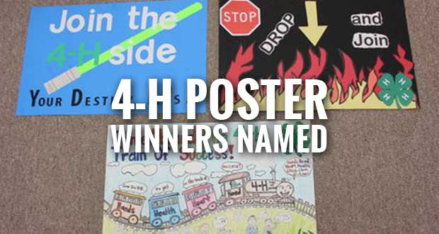 Winners Chosen from 2,230 Entries in 4-H Poster Contest