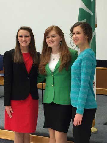 4-H Public Speaking Contest Winners