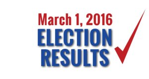 March 1, 2016 Election Results in Sevier County