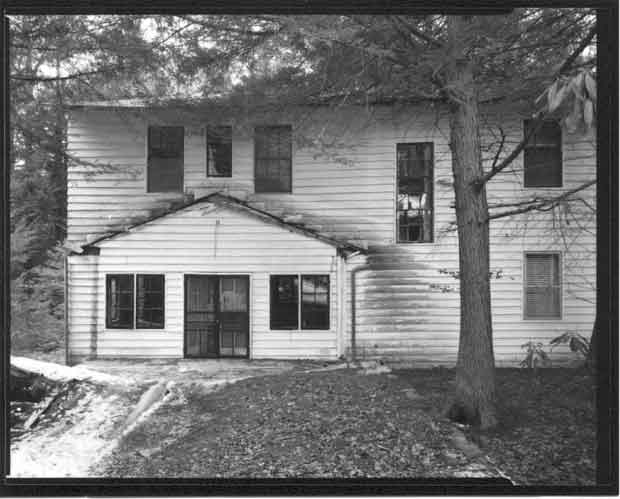 Historic photo of the Wonderland Hotel Annex at Elkmont in Great Smoky Mountains National Park