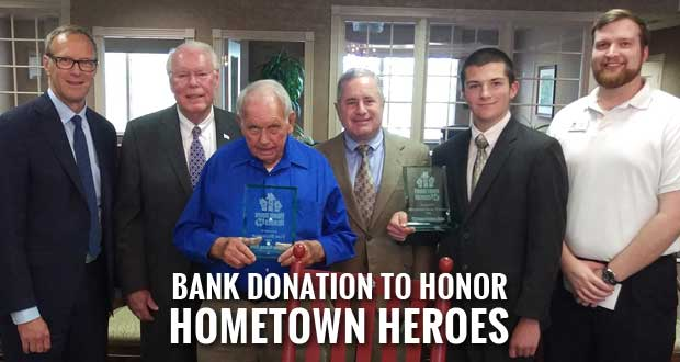 Home Federal Bank names Sevier County Teen, Blount Man 2016 Hometown Heroes