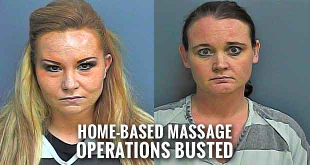 Two Sevier County Women Charged with Prostitution