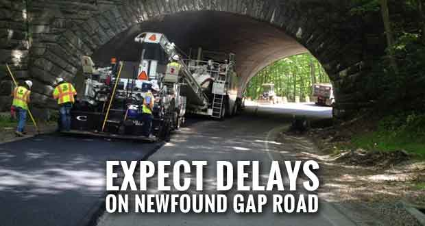 Paving Operations Begin on Newfound Gap Road in Smokies