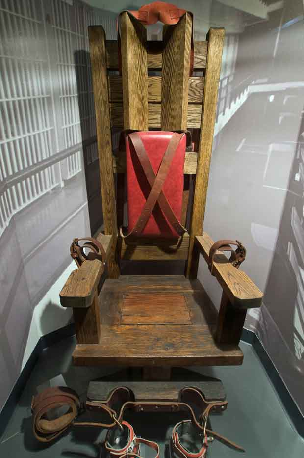Old Smokey Tennessee Electric Chair