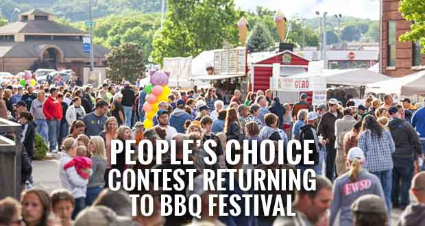 Vote for Your Favorite in the People's Choice Contest at BBQ Festival