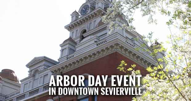Sevierville to Celebrate Tree City USA Status with Event in Town Square