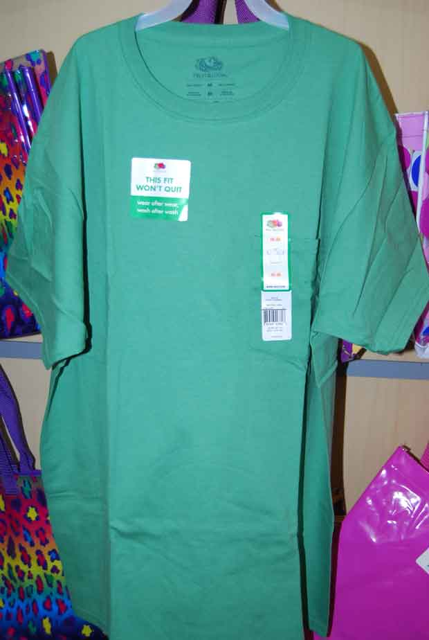 Shirt purchased by Gary Simpson at Walmart