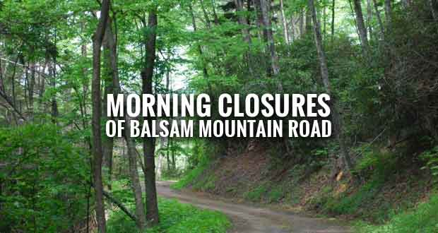 Smokies Closing Balsam Mountain Road for Maintenance