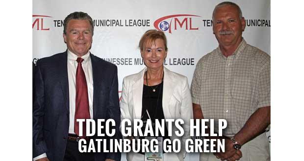 Gatlinburg Recognized for Excellence in Green Leadership