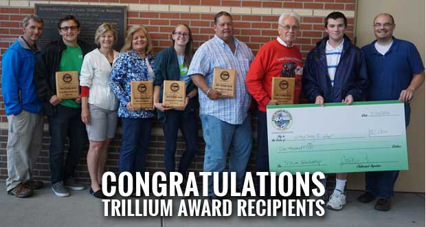 Keep Sevier Beautiful Recognizes Volunteers with Trillium Awards