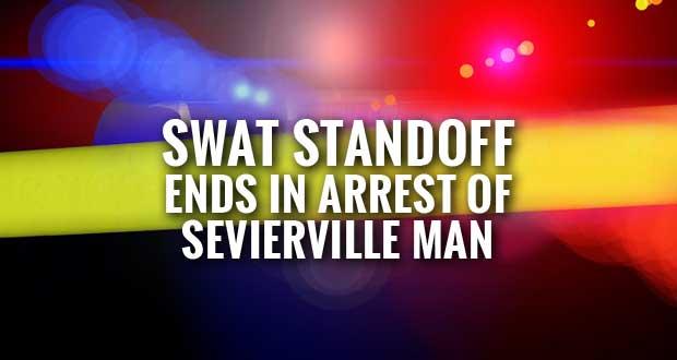 Domestic Dispute Involving Handgun Turns into SWAT Standoff