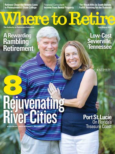 Where to Retire Cover July 2016
