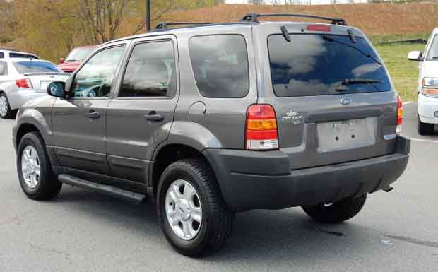 Lorie King Huskey 2003 Ford Escape