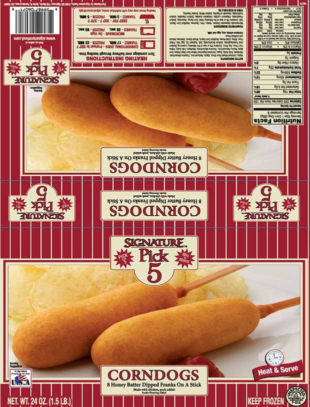 Signature Pick 5 Corn Dogs