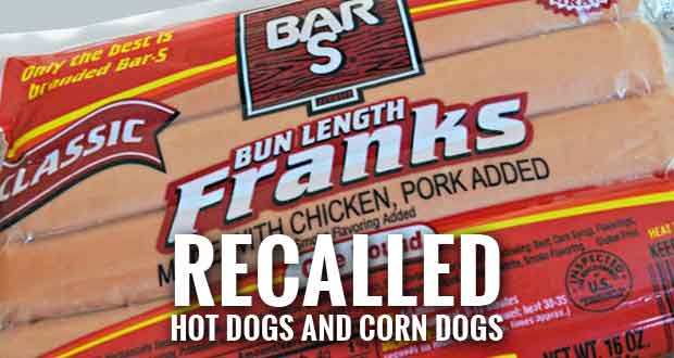 Hot Dog Recall affects Bar-S Hot Dogs and Corn Dogs Nationwide