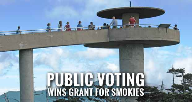 $250K Partners in Preservation Grant to Restore Clingmans Dome Observation Tower
