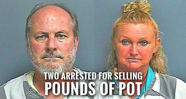 Sevier County Pair Charged with Selling Large Amount of Marijuana