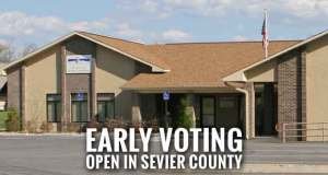Turnout Low for Start of Sevier County Early Voting