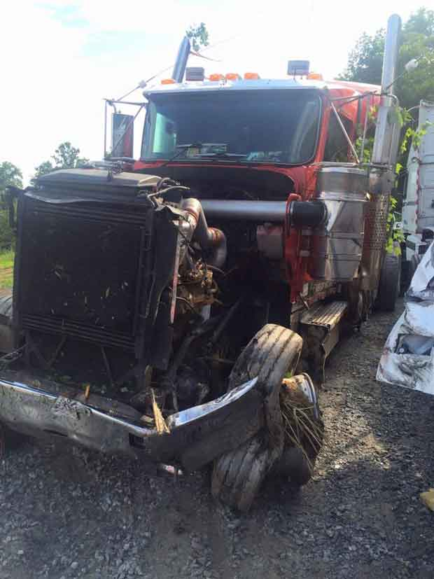 God's Pit Crew Tractor Trailer Accident
